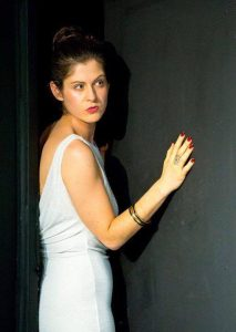 Nicola Roscoe as Paige in Dinner