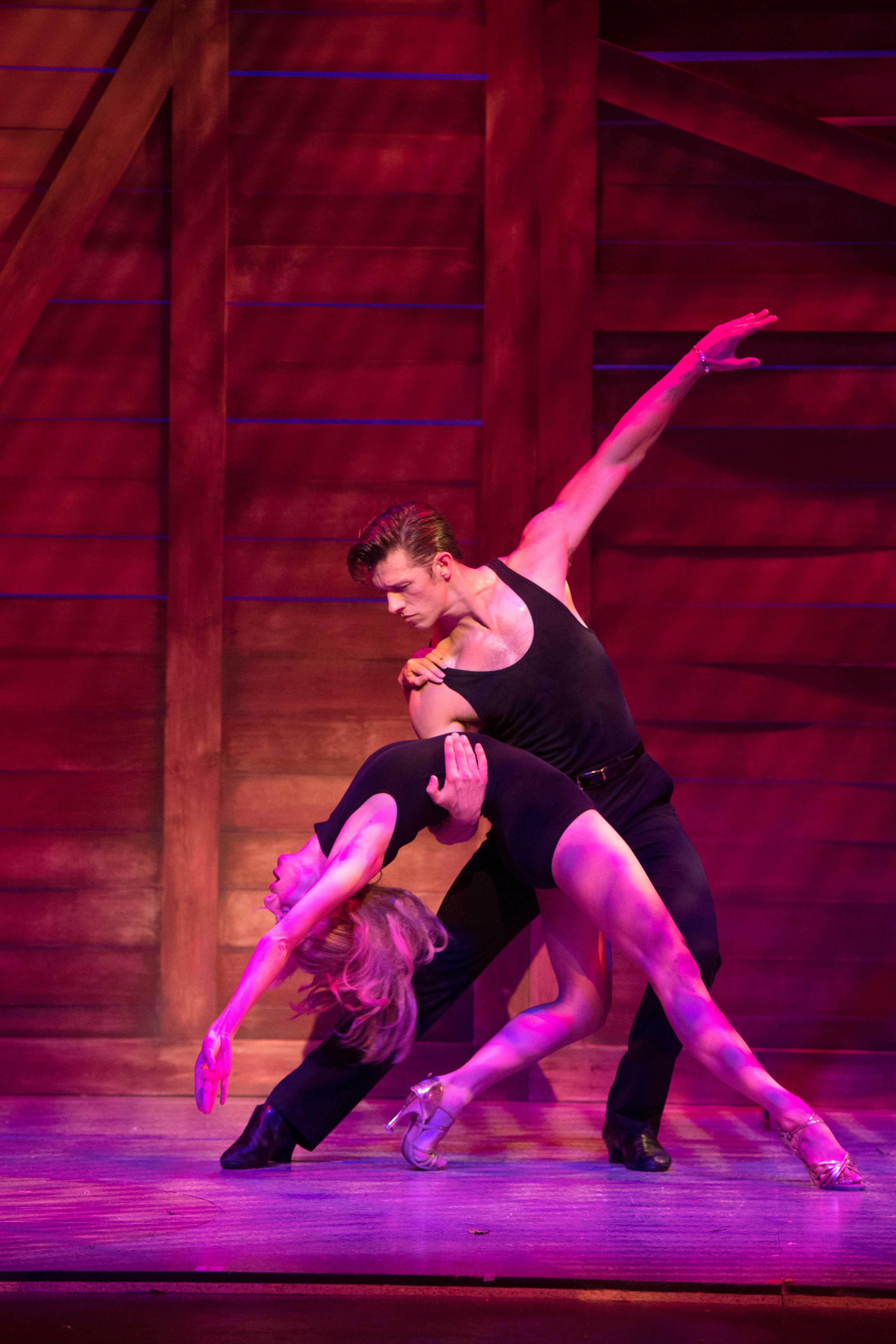 Dirty Dancing - Carlie Milner as 'Penny' & Lewis Griffiths as 'Johnny' - cAlastair Muir