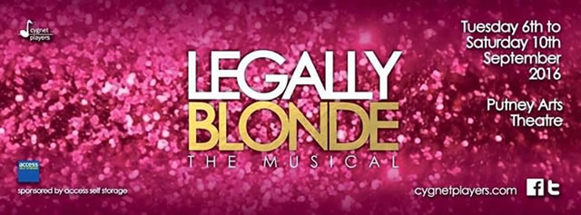 Legally Blonde Cygnet Players