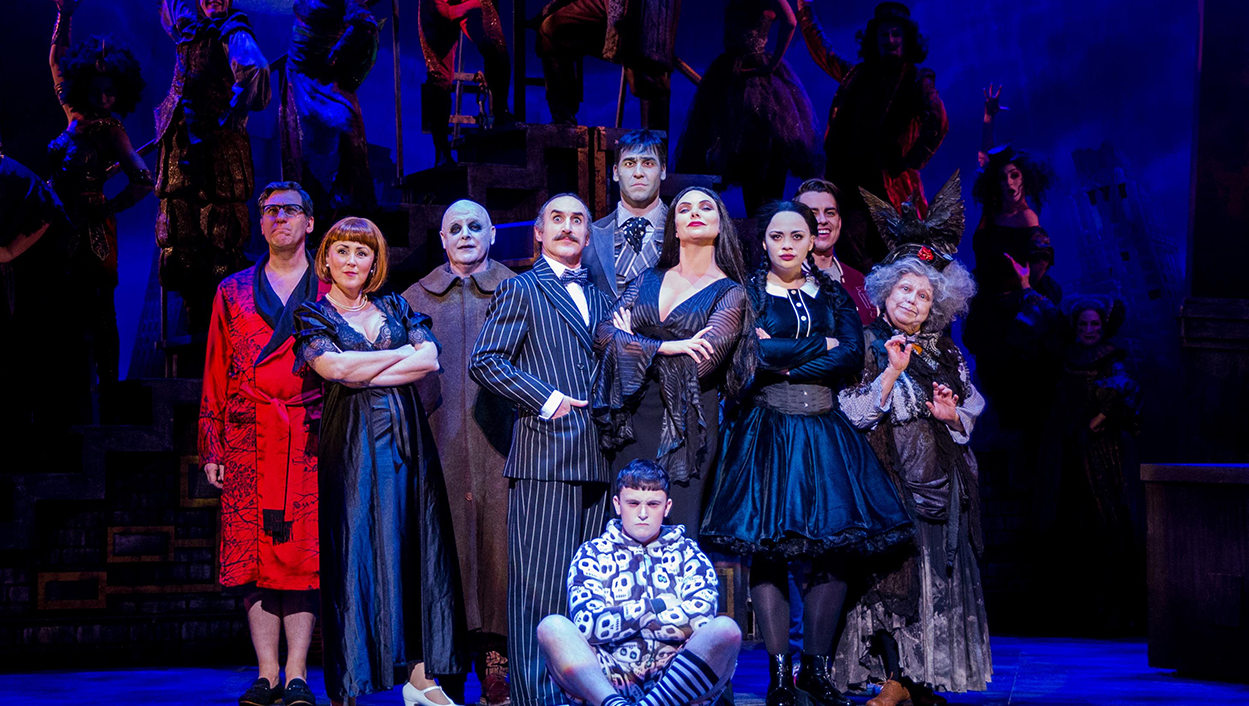 The Addams Family Musical Tour Cast