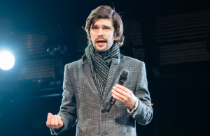 Ben Whishaw as Brutus in Julius Caesar