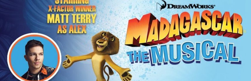Madagascar musical promotional banner