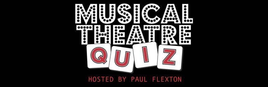 Musical theatre quiz logo