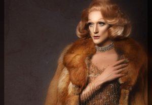 Dietrich in her fur coat