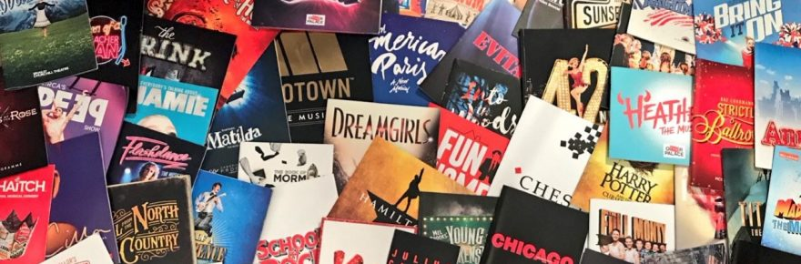 Musical Theatre Musings programmes