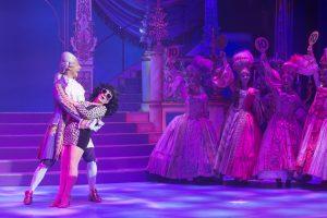 Lesley Joseph in Cinderella at the Churchill Theatre