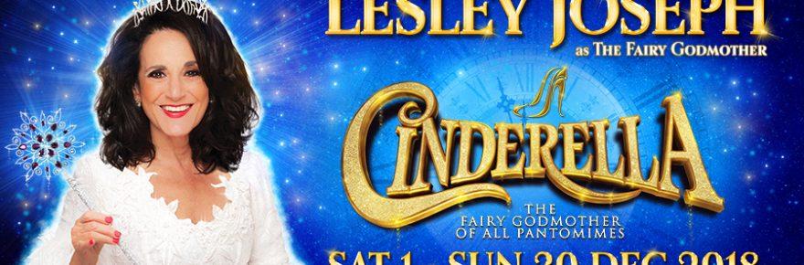 Cinderella at The Churchill Theatre banner