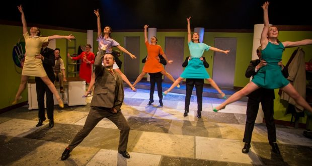Dancers in How To Succeed In Business Without Really Trying by Sedos