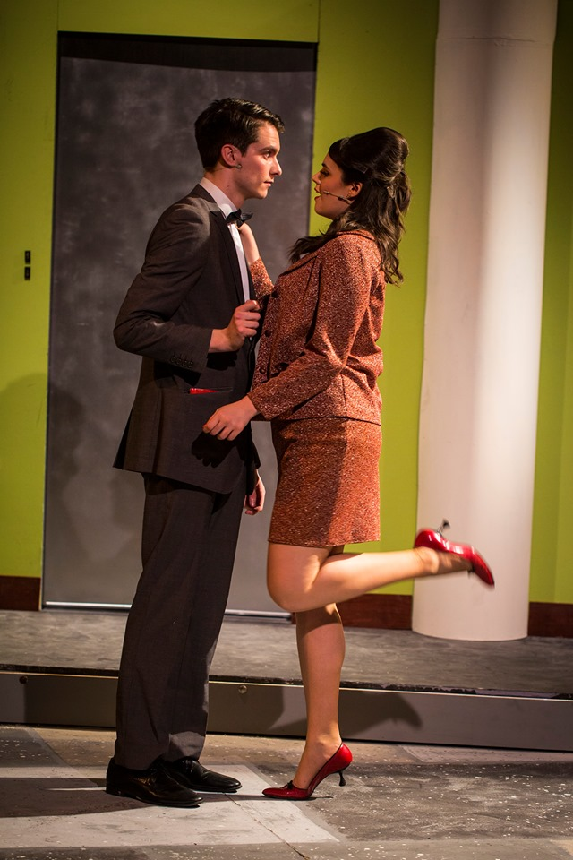 Finch and La Rue in How To Succeed In Business Without Really Trying