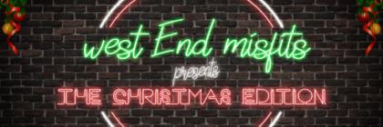 West End misfits neon sign