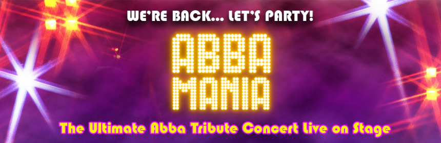 Abba Mania header