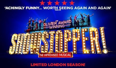 Showstopper the improvised musical banner picture